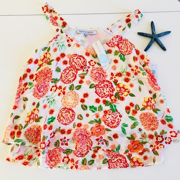 Collective Concepts Tops - 🌺 3/$22 🌺NWT Cute summer shirt small